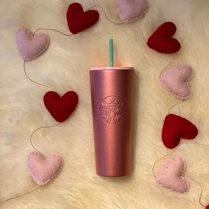 Rare Starbucks Rose Gold Stainless Steel Tumbler